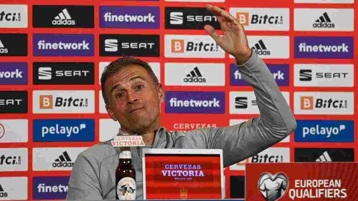 Луїс Енріке засумнівався у перспективах збірної Іспанії у відборі до ЧС-2022