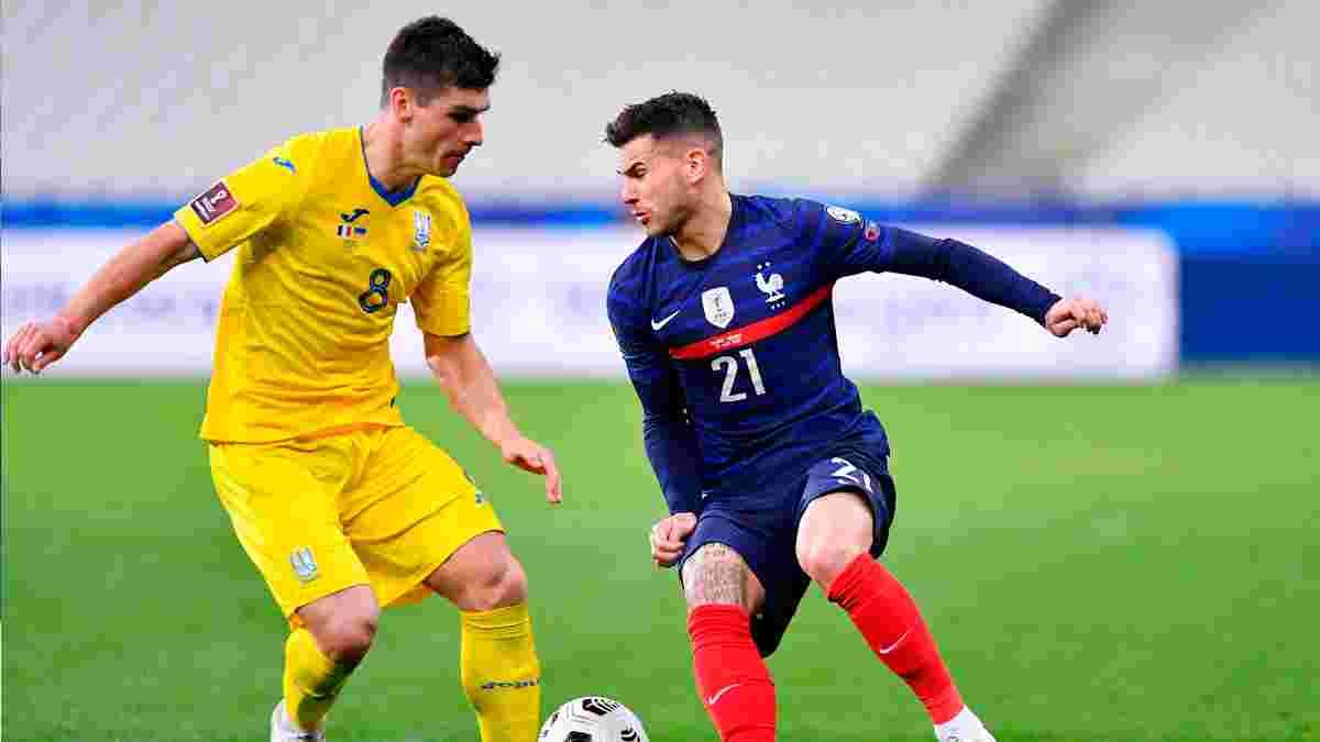 Україна – Франція: анонс матчу відбору ЧС-2022