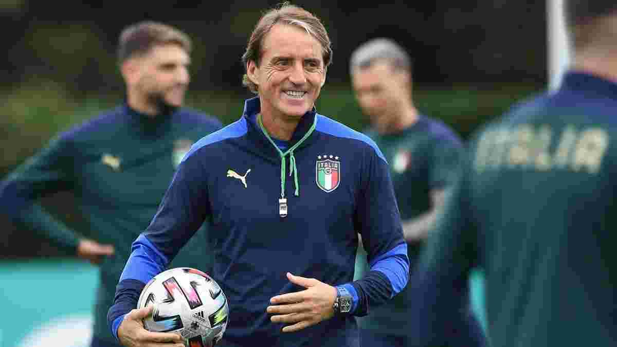 """""""Италии нельзя становиться заложником воспоминаний о триумфе на Евро"""": Манчини предостерег подопечных"""