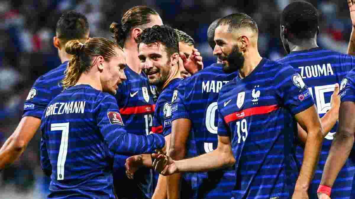 Повторение достижения Платини в видеообзоре матча Франция – Финляндия – 2:0