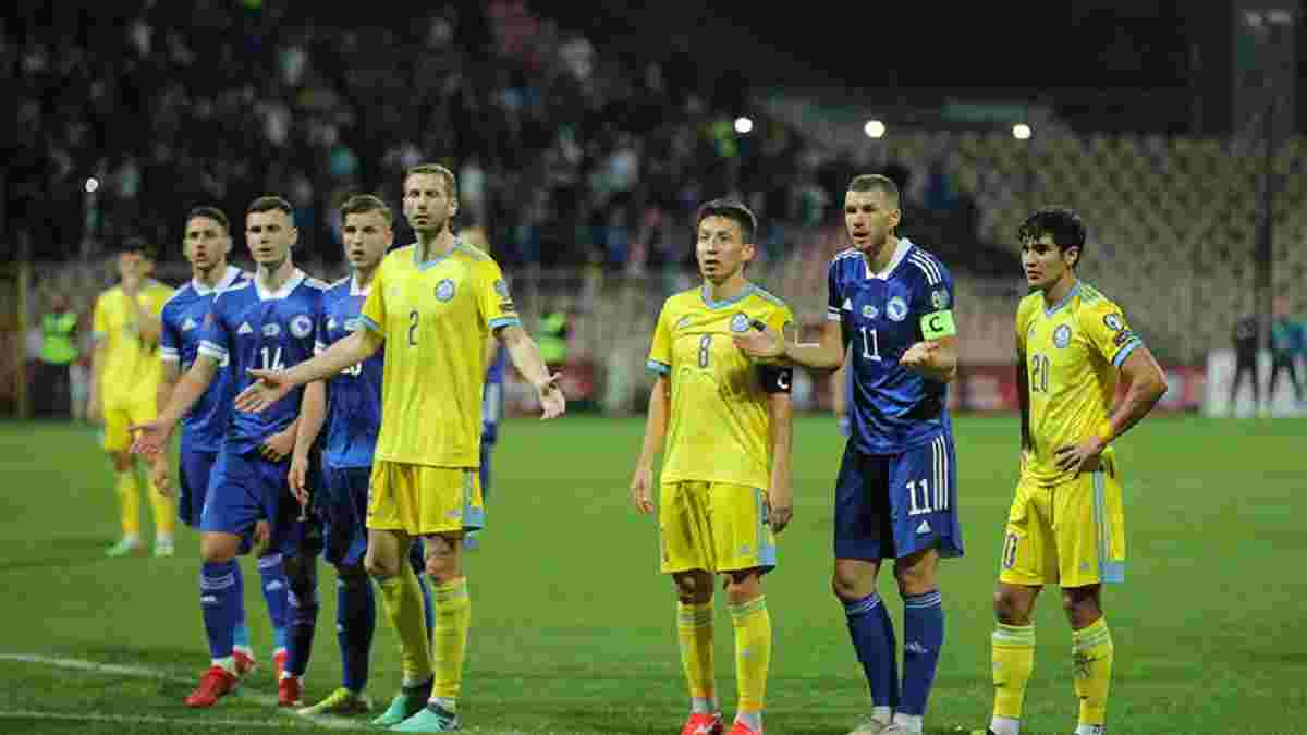 Трилер останніх хвилин у відеоогляді матчу Боснія і Герцеговина – Казахстан – 2:2