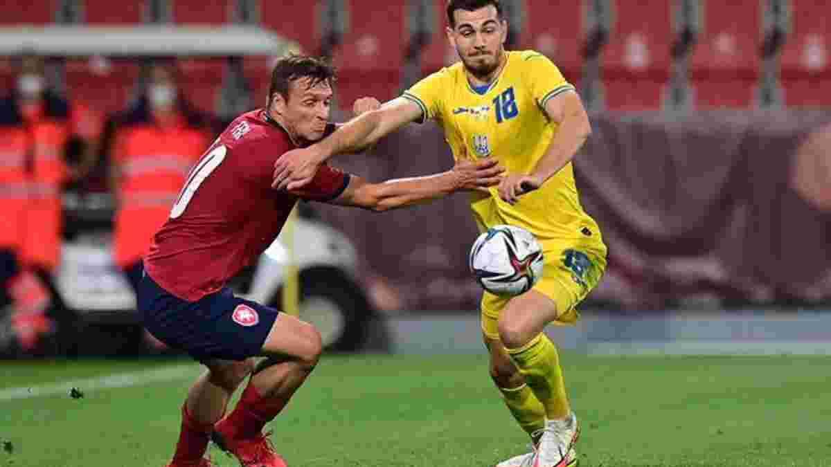 Чехия – Украина – 1:1 – видео голов и обзор матча