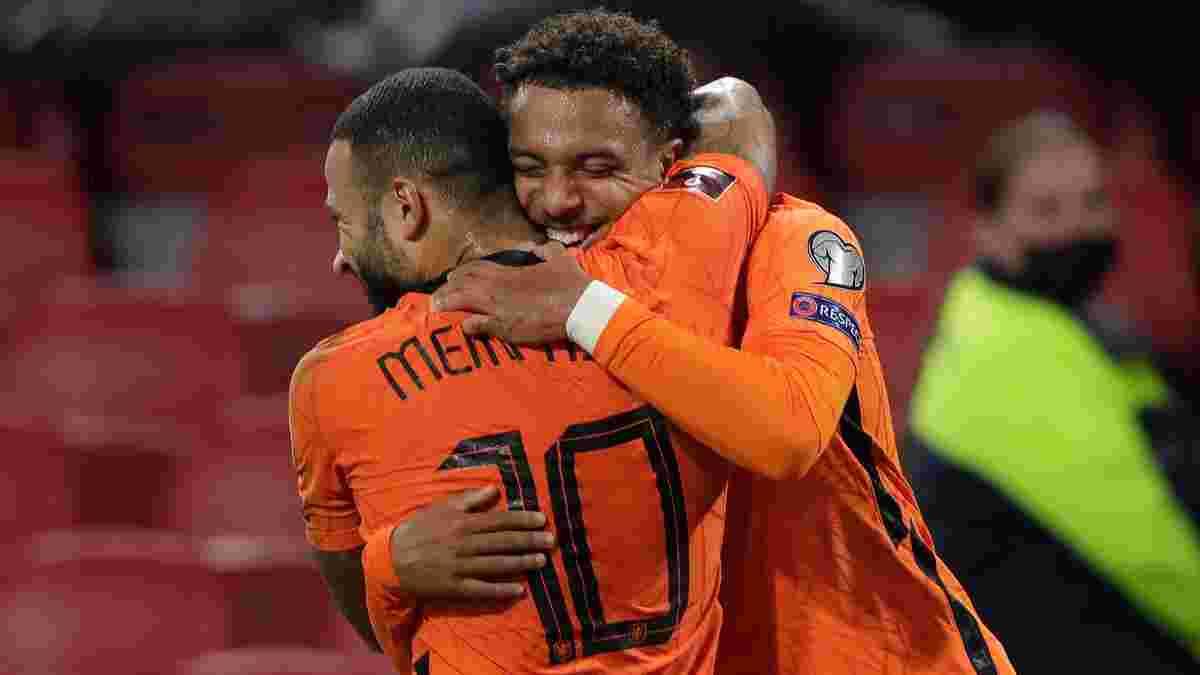 Нидерланды – Турция – 6:1 – видео голов и обзор матча