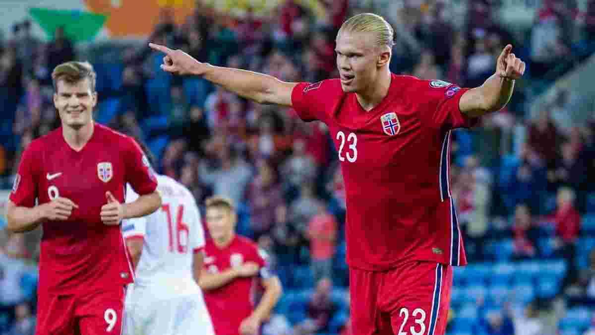 Хет-трик Холанда в видеообзоре матча Норвегия – Гибралтар – 5:1