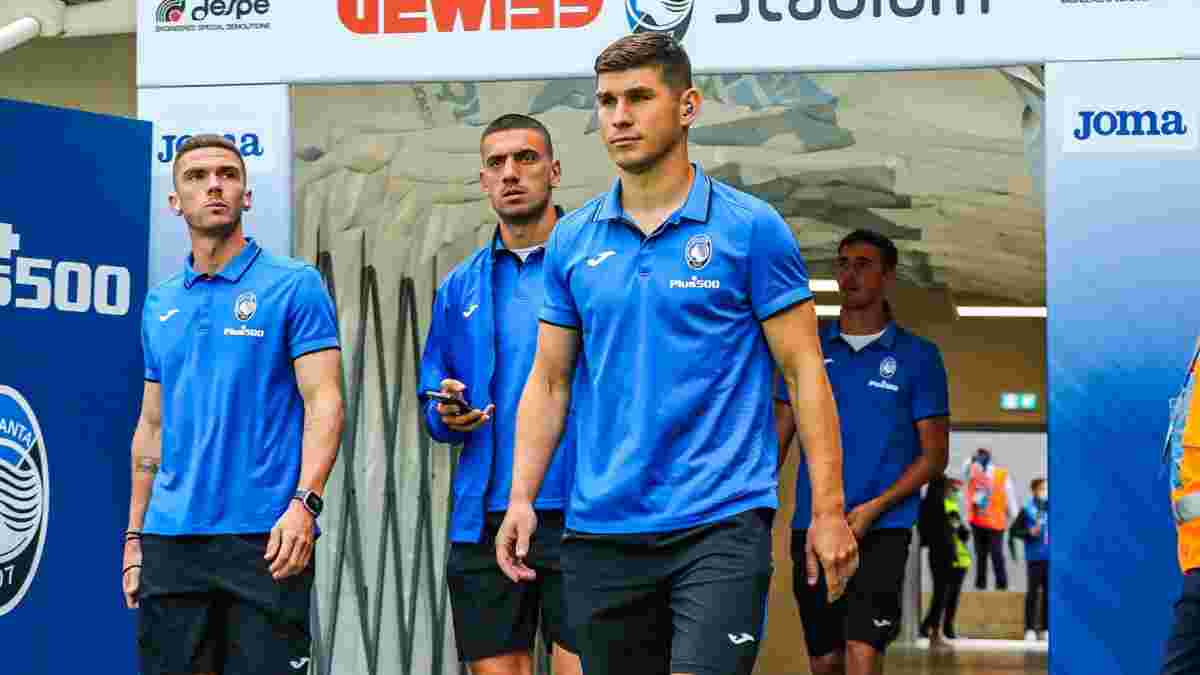 Маліновський повернувся до тренувань у загальній групі Аталанти
