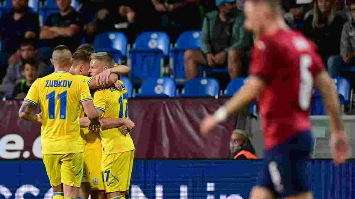 Чехия – Украина: онлайн-трансляция матча – 3 дебютанта и большие эксперименты Петракова