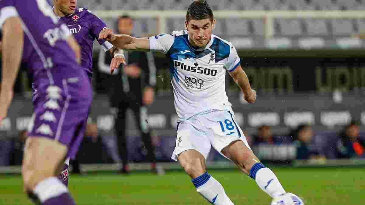 Аталанта – Фіорентина: Маліновський залишився у запасі на матч Серії А