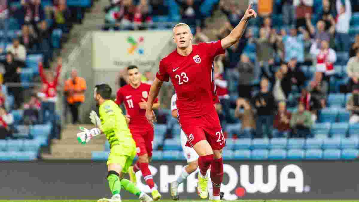 """""""Забиваю недостатньо"""": Холанд роздратований кількістю забитих голів після хет-трику в ворота Гібралтару"""