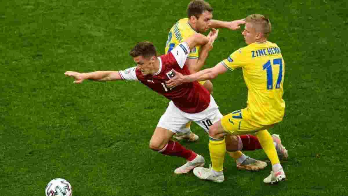 Секрет найгіршого матчу України на Євро-2020 – як Австрія, яка провалює рік, несподівано показала всю силу