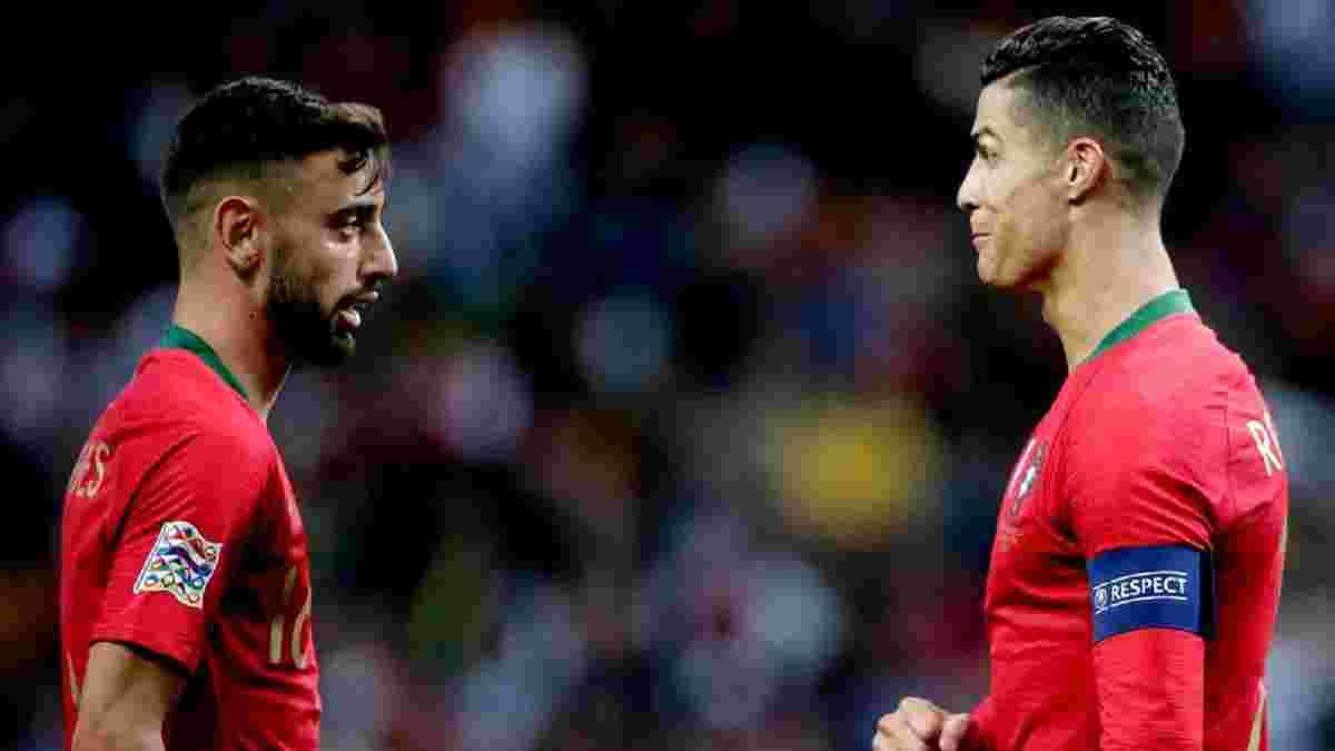 Фернандеш спрогнозировал, какие изменения спровоцирует в Манчестер Юнайтед приход Роналду