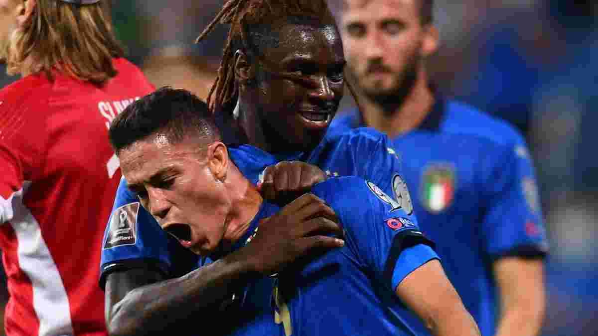 ЧС-2022, відбір: Італія рознесла Литву, сенсаційна поразка Швеції, безсилий Бейл, Бельгія мінімально переграла Білорусь