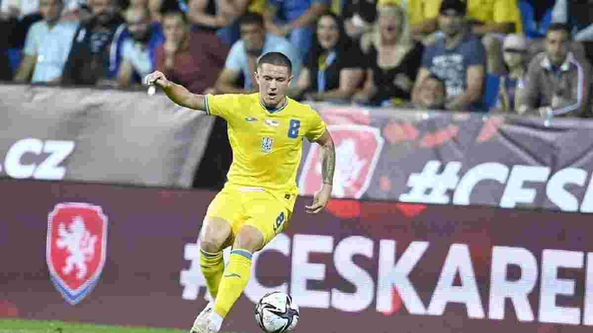 Корниенко прокомментировал гол в дебютном матче за сборную Украины