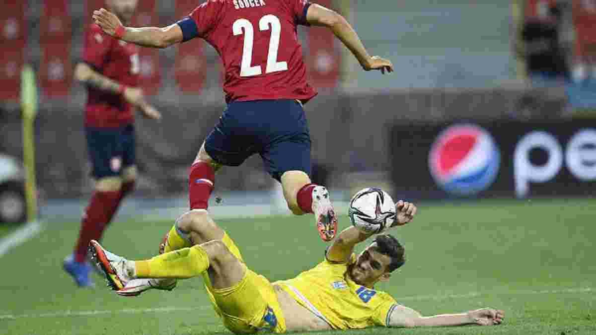 Качараба назвав головну причину втраченої перемоги над збірною Чехії