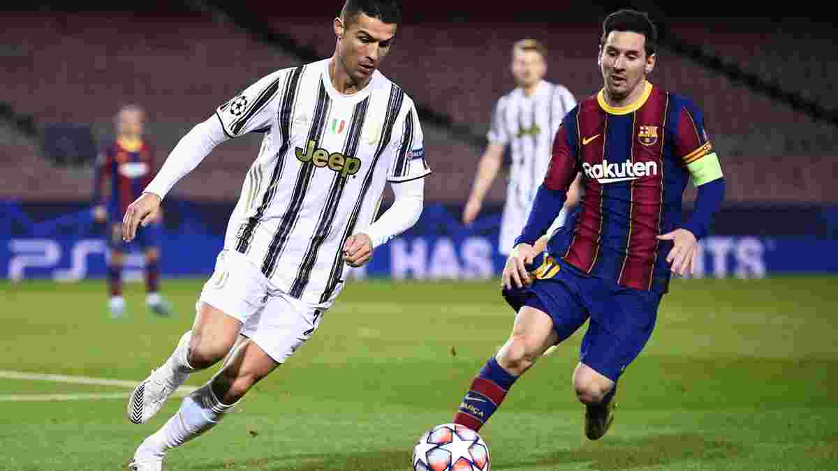 Роналду попереду Мессі, а Марадона навіть не в п'ятірці – математик сформував топ-10 найкращих гравців