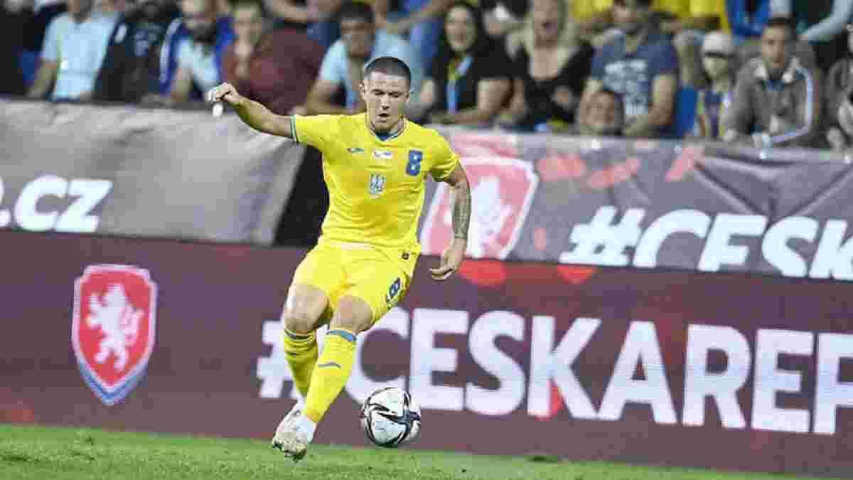 Чехія – Україна: InStat визначив найкращого гравця товариського матчу