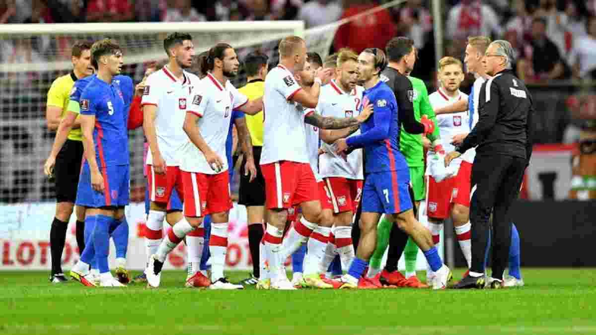 Скандальний матч між Польщею та Англією отримав продовження – британці брехливо звинуватили суперника у расизмі