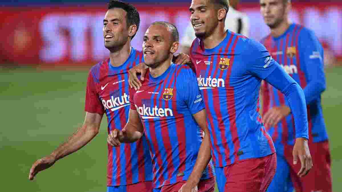 Барселона приготовила стильный сюрприз для Динамо и других соперников в Лиге чемпионов