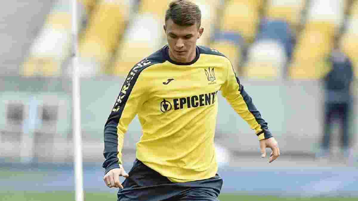 Кочергін поділився змішаними відчуттями від дебюту за збірну України