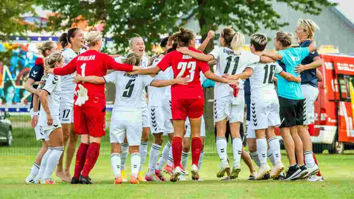 Жилстрой-1 пробился в групповой этап Лиги чемпионов среди женщин, обыграв Аполлон