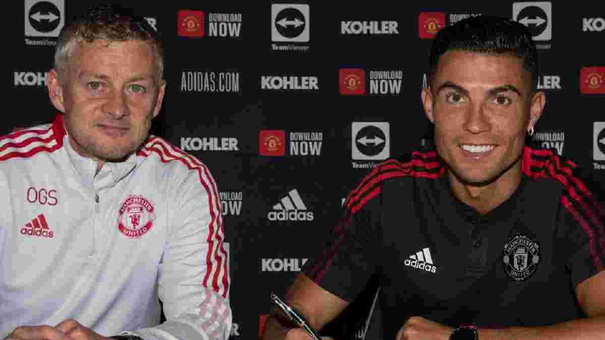 Роналду зізнався, на скільки сезонів планує затриматись у Манчестер Юнайтед