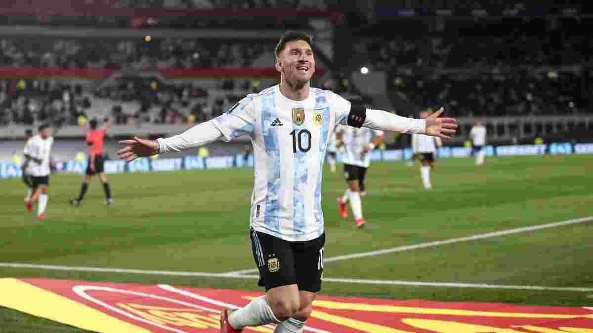 ЧС-2022, відбір: Мессі побив рекорд Пеле, оформивши хет-трик за Аргентину, Бразилія переграла Перу