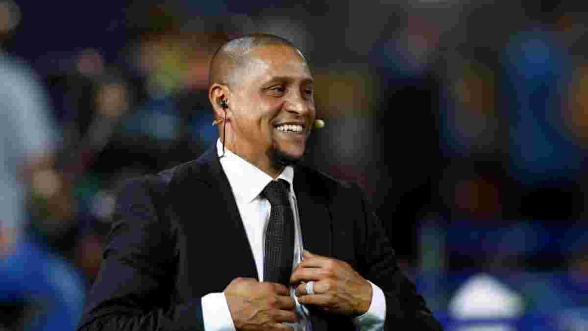 Роберто Карлос прибыл в Киев на открытие футбольной школы Реала