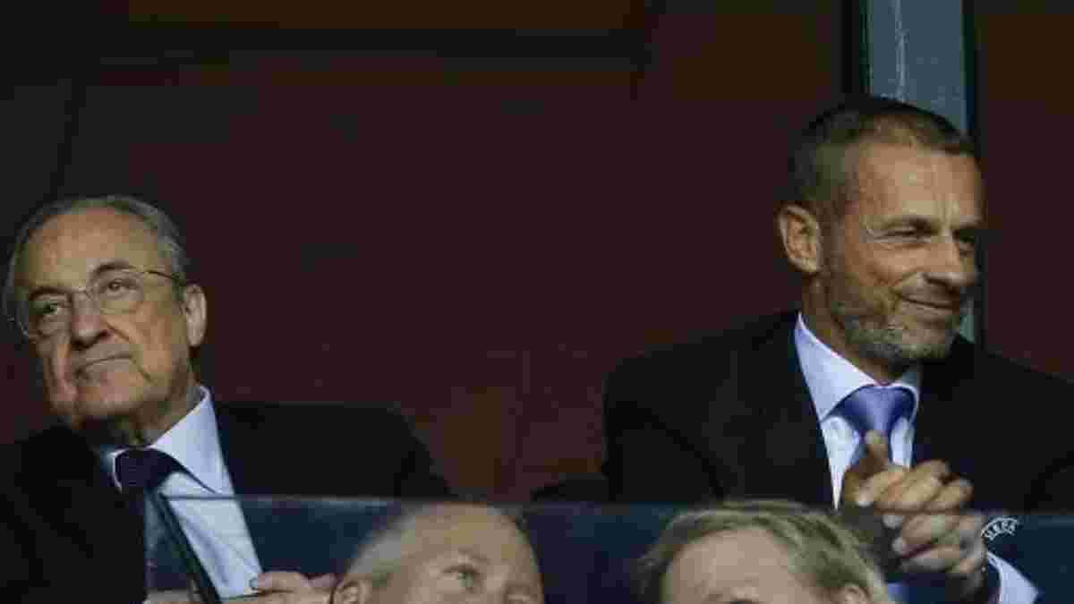 Чеферин позлорадствовал над провальной попыткой Реала приобрести Мбаппе за 180 миллионов