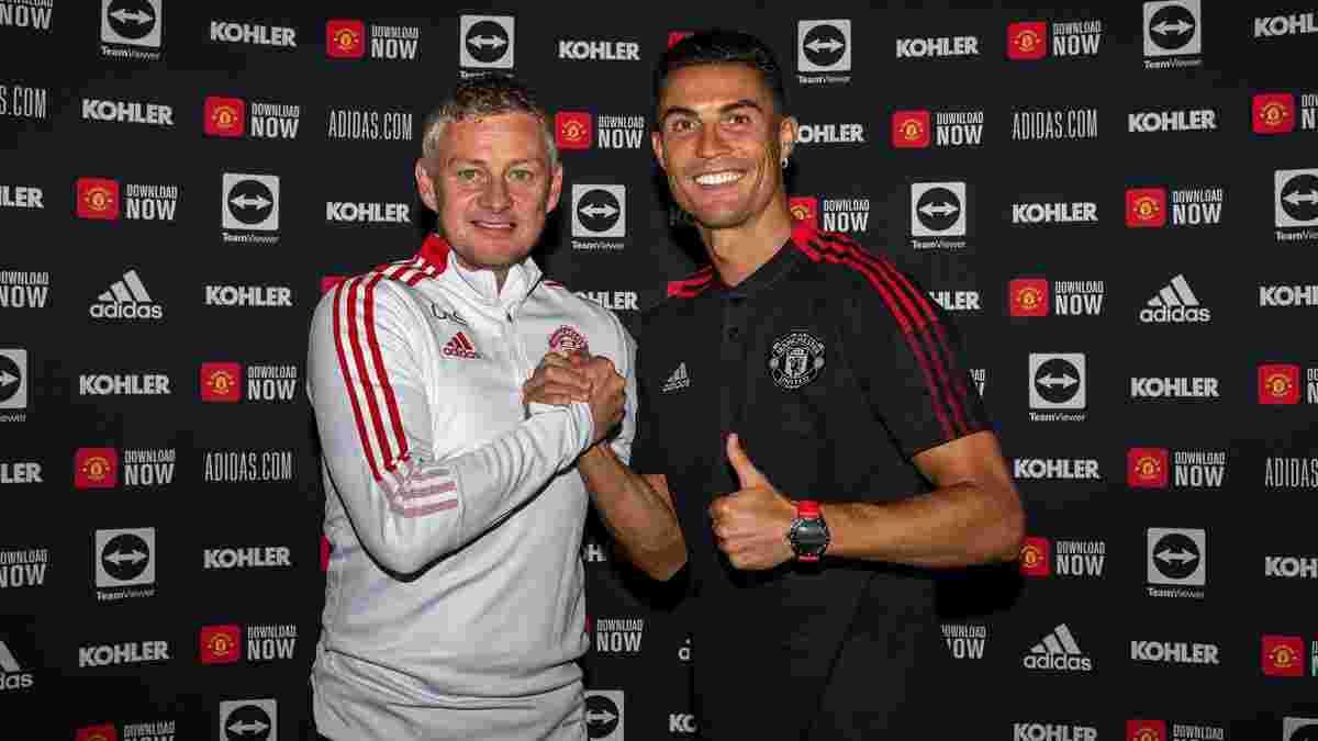 Сульшер анонсував дебют Роналду за Манчестер Юнайтед