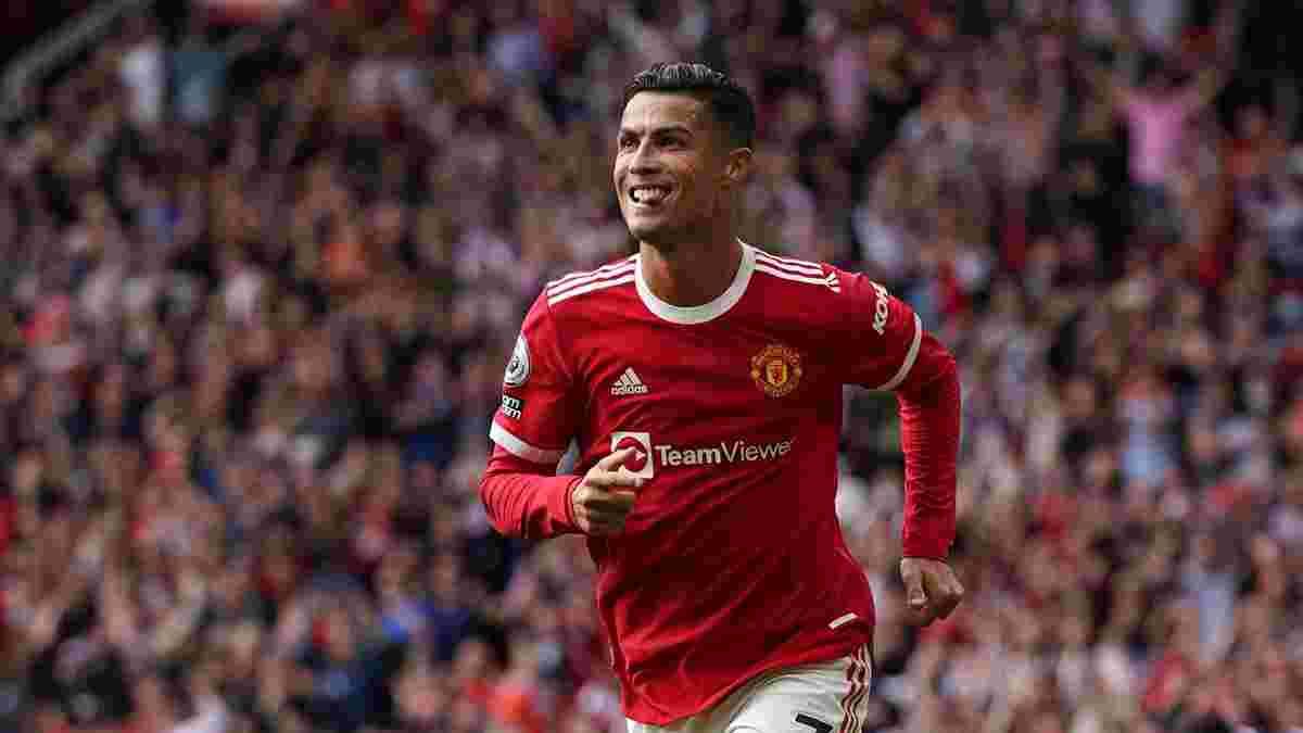 Роналду забив у першому ж матчі після повернення до МЮ – один з найлегших м'ячів за всю кар'єру португальця
