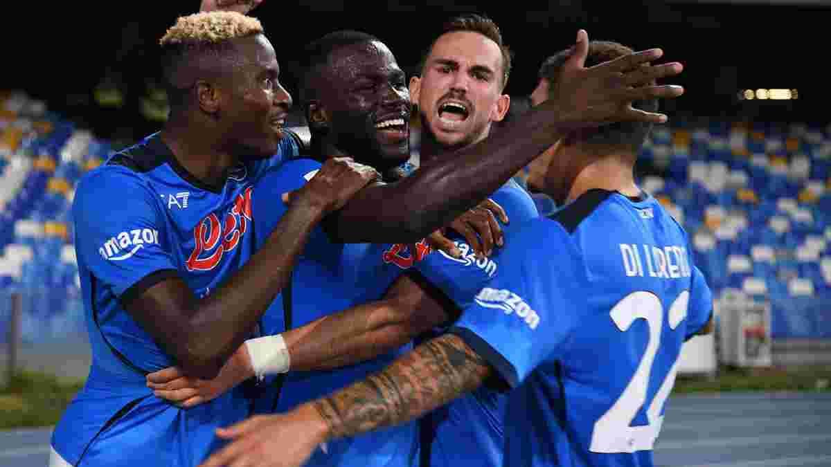 Наполи вышел на первую позицию в Серии А, переиграв Ювентус в дерби – туринцы набрали 1 очко в трёх стартовых турах