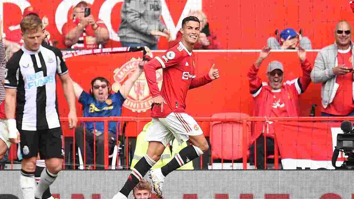 Роналду емоційно прокоментував своє феєричне повернення на Олд Траффорд
