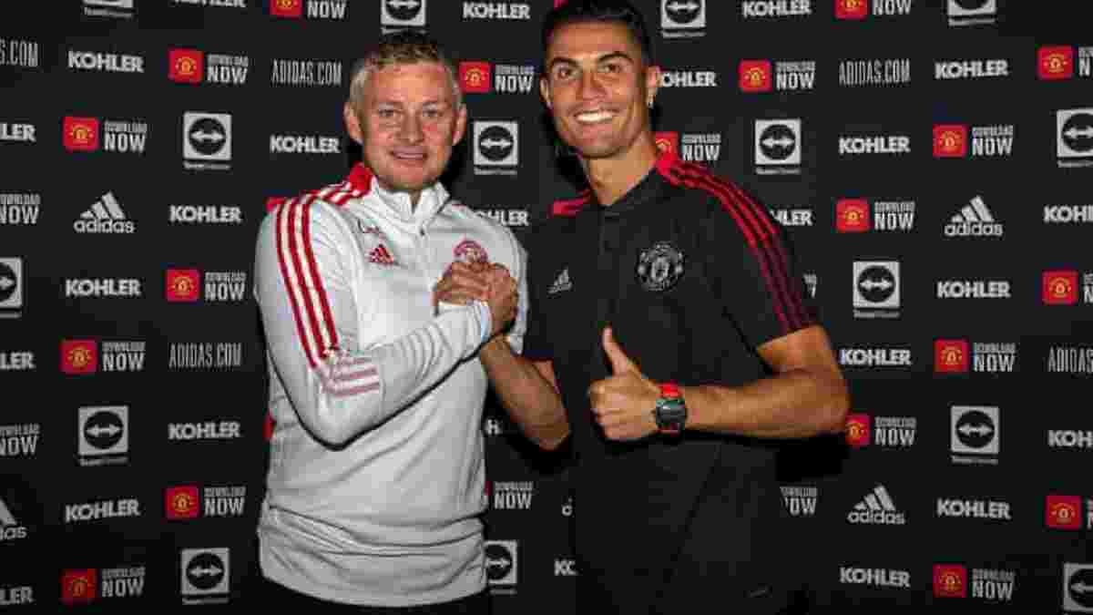"""""""Всем как будто снится хороший сон"""": Сульшер – о супердебюте Роналду в Манчестер Юнайтед"""