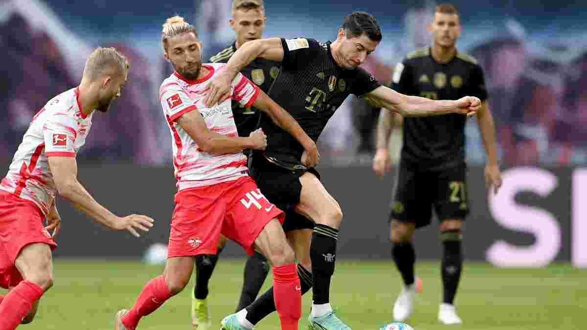 """Бавария разгромила РБ Лейпциг и поднялась на вторую строчку Бундеслиги – """"быки"""" потерпели третье поражение в сезоне"""