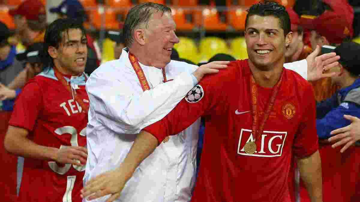 """""""Я не мог представить, чтобы Роналду играл за Манчестер Сити"""": Фергюсон – о роскошном возвращении """"сына"""" на Олд Траффорд"""