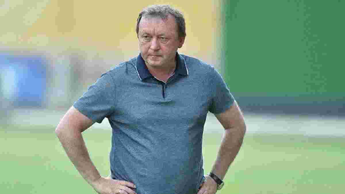 Шаран побаивается посещать матчи украинских команд – специалист хочет избежать слухов о несуществующих назначениях