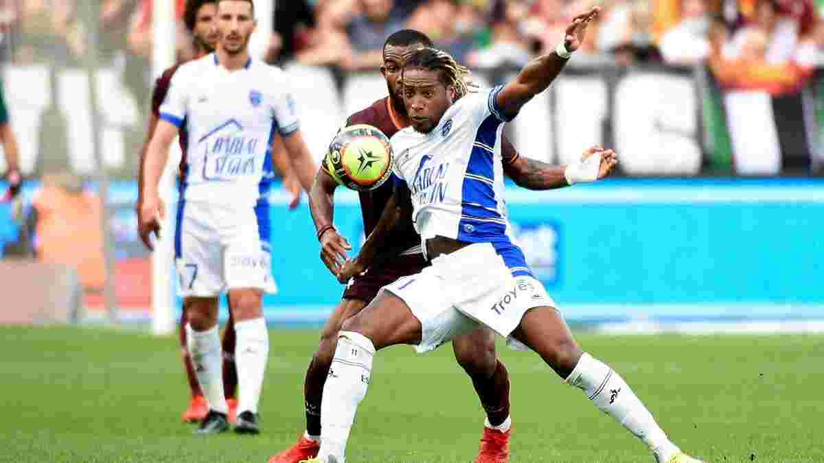 Жерсон голом дебютував у Франції – вінгер Динамо долучився до першої перемоги Труа в сезоні