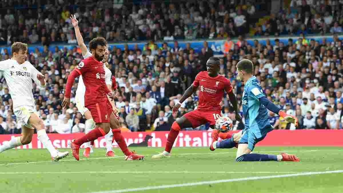 Ливерпуль в большинстве разгромил Лидс – скаузеры поднялись на третью строчку турнирной таблицы, догнав МЮ и Челси