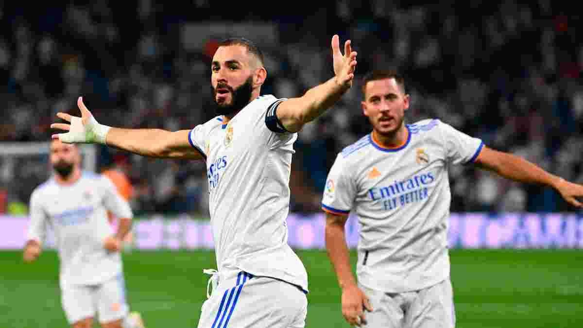 Реал победил Сельту в дебютном матче на обновленном Бернабеу – Бензема с хет-триком, Камавинга впервые забил за Мадрид