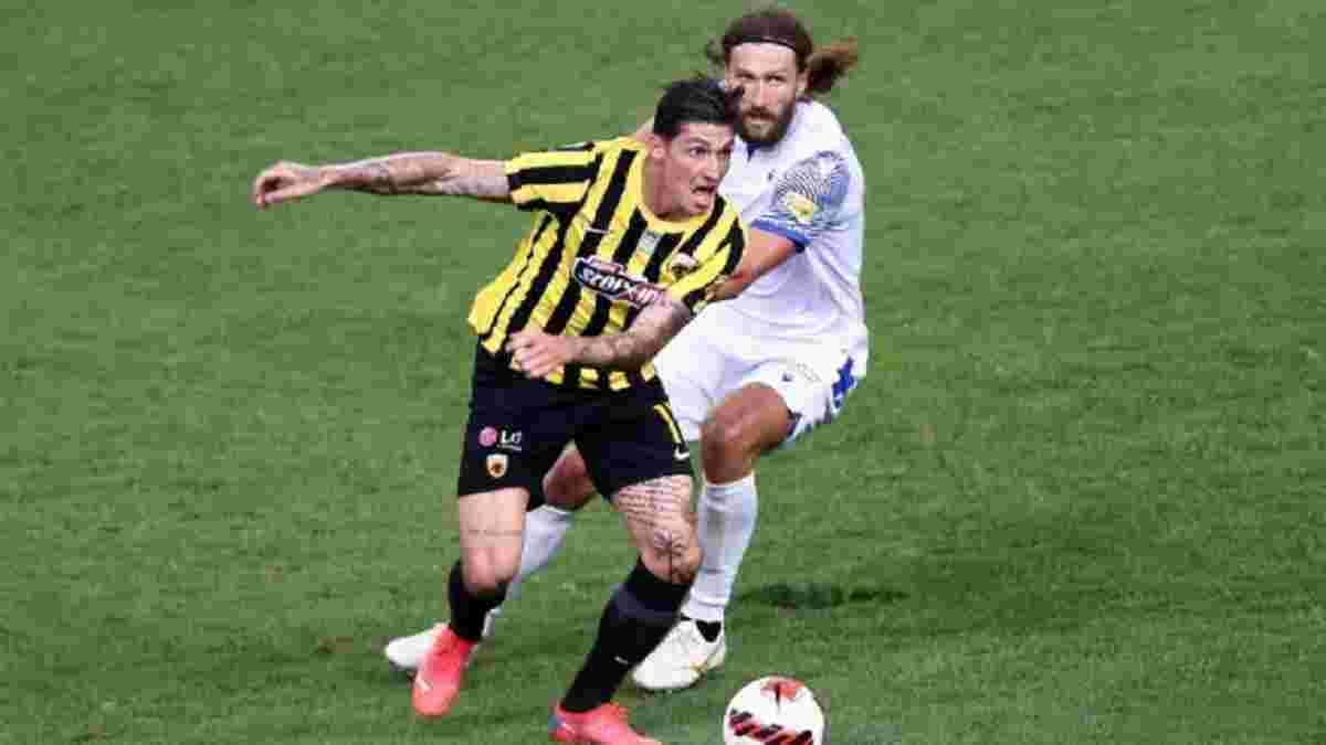Чигринський з поразки дебютував за Іонікос проти своєї колишньої команди – відео розгрому