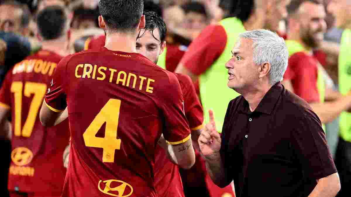Победный юбилей Моуринью в видеообзоре матча Рома – Сассуоло – 2:1