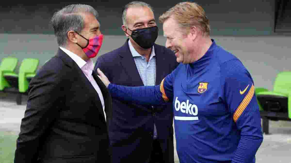 """""""Благодаря мне у Барселоны есть будущее"""": Куман наехал на Лапорту за утечки информации по контракту с клубом"""