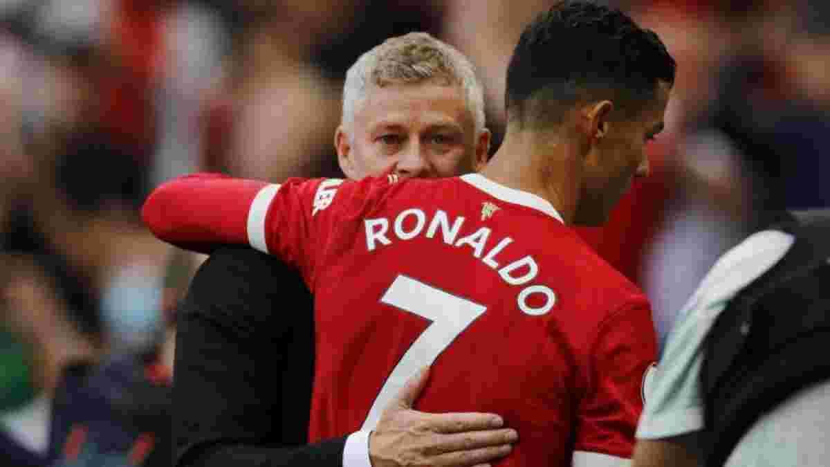 Сульшер заявил, что может оставить Роналду на скамейке запасных