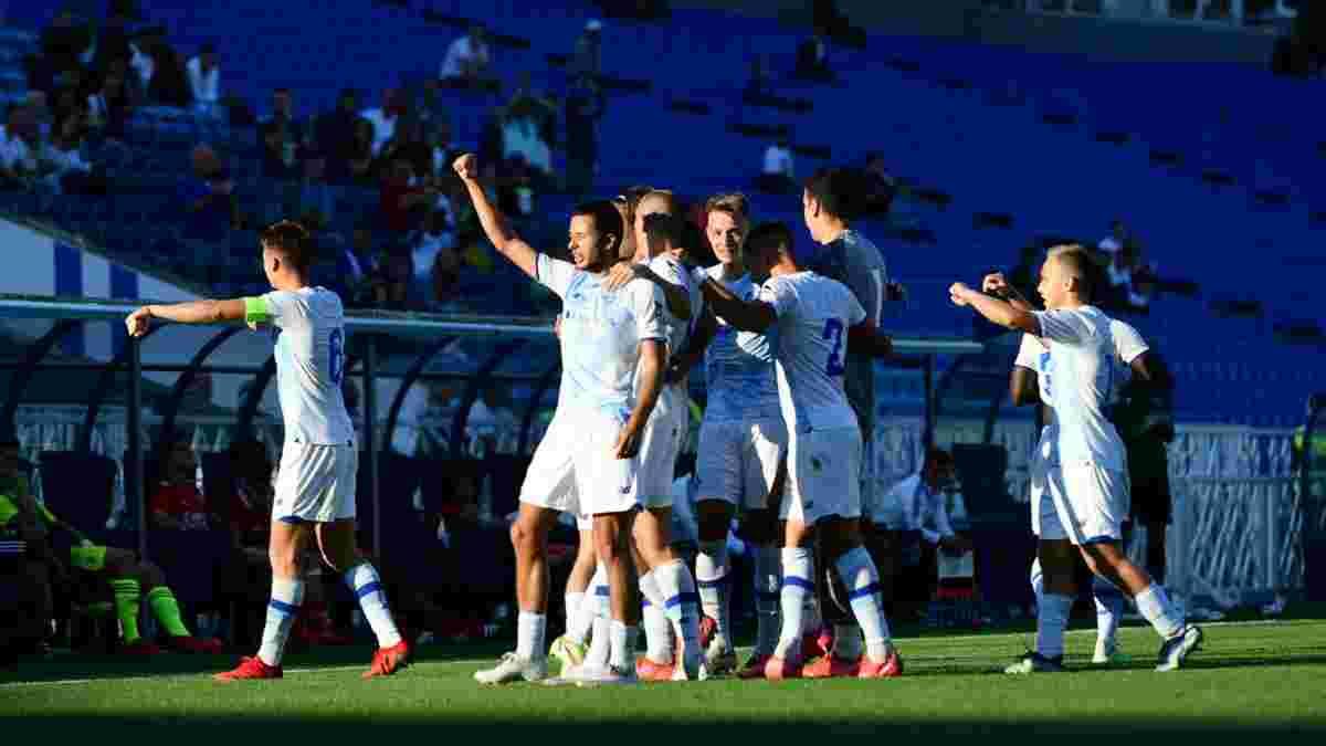 Динамо U-19 – Бенфіка U-19 – 4:0 – відео голів та огляд матчу