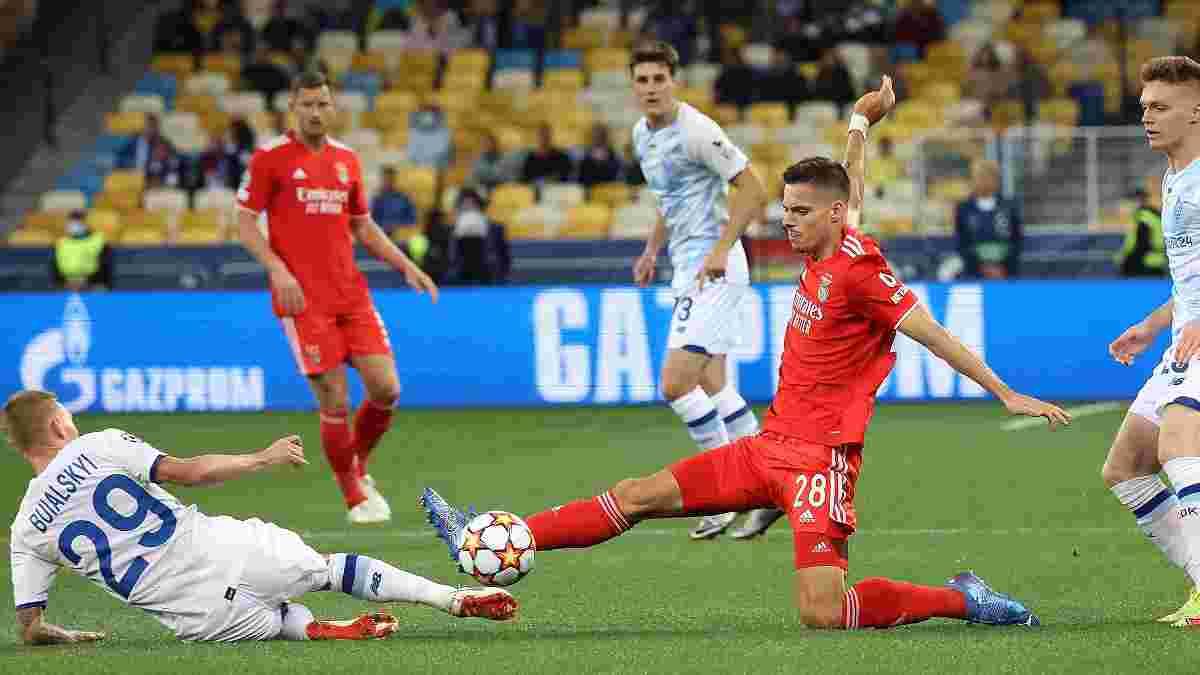 Отмененный гол Шапаренко в видеообзоре матча Динамо – Бенфика