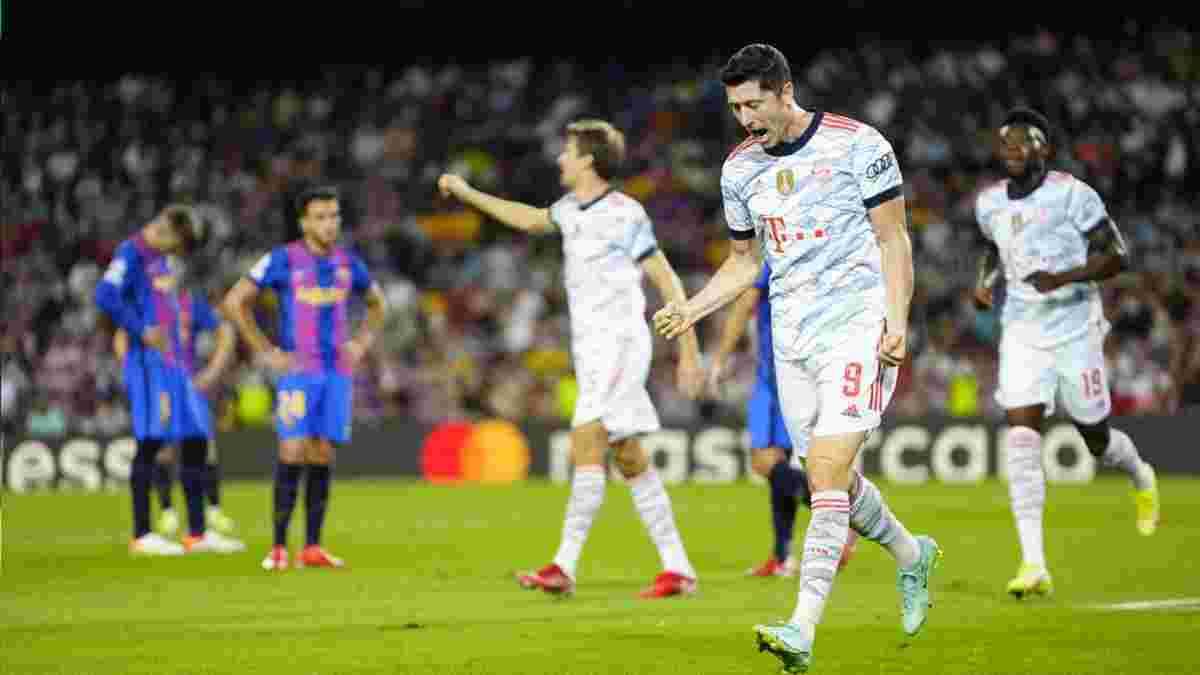 Барселона позорно проиграла Баварии: бессилие Кумана, неудержимый Левандовски и четкие сигналы для Динамо