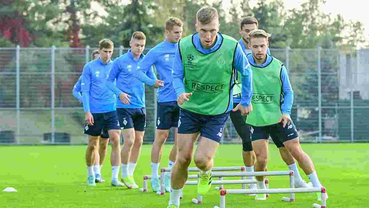Динамо – Бенфіка: команди визначились із формою на стартовий поєдинок Ліги чемпіонів