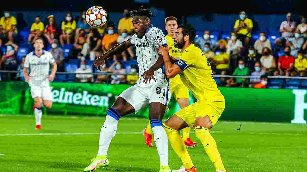 Вильярреал – Аталанта – 2:2 – видео голов и обзор матча