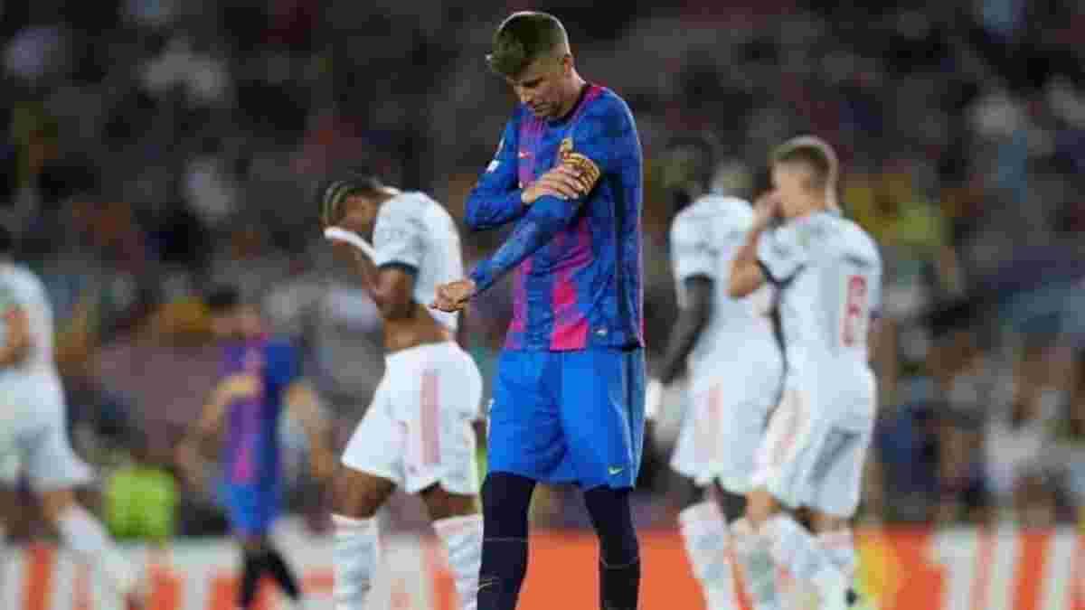 """""""Сейчас Барселона такая, какая есть"""": Пике подытожил фиаско в матче с Баварией"""