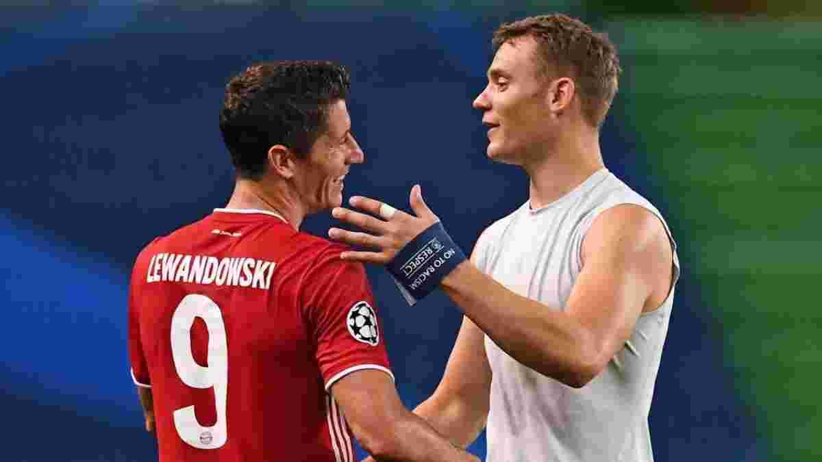 Левандовски установил впечатляющую серию побед в Лиге чемпионов – такое не удавалось Роналду и Месси