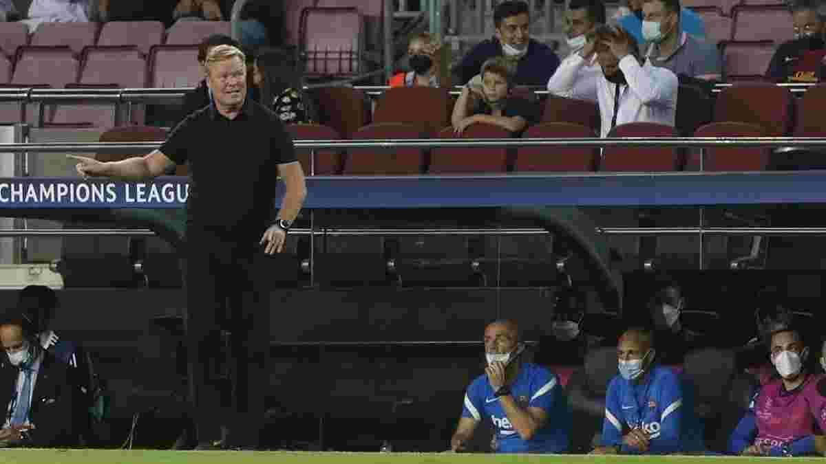 Куман обвинил врачей Барселоны в неудачах на старте сезона